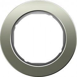 Рамка 1 пост Berker R.CLASSIC, нержавеющая сталь, 10112014