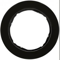 Рамка 1 пост Berker R.CLASSIC, черный глянцевый, 10112045