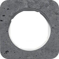 Рамка 1 пост Berker R.1, бетон, 10112379