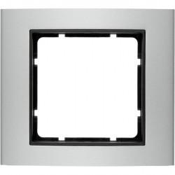 Рамка 1 пост Berker B.3, алюминий, 10113004