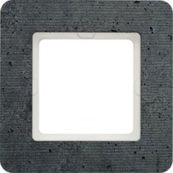 Рамка 1 пост Berker Q.7, бетон, 10116020