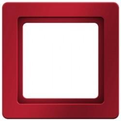 Рамка 1 пост Berker Q.1, красный бархат, 10116062