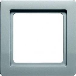 Рамка 1 пост Berker Q.1, алюминий бархатный, 10116084