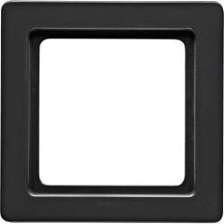 Рамка 1 пост Berker Q.1, черный бархат, 10116086