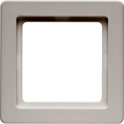 Рамка 1 пост Berker Q.1, белый бархат, 10116089