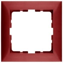 Рамка 1 пост Berker S.1, красный глянцевый, 10118962
