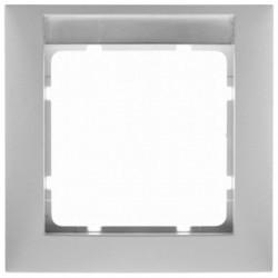 Рамка 1 пост Berker S.1, белый матовый, 10119919