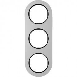 Рамка 3 поста Berker R.CLASSIC, алюминий, 10132084