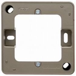 Arsys Рамка 1-ная для наружного монтажа, светло-бронзовый, металл.