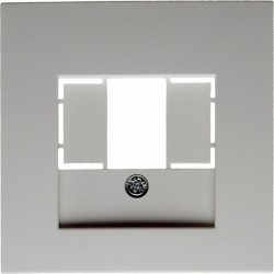 Накладка на розетку USB Berker, белый матовый, 10331909