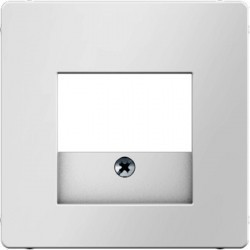 Накладка на розетку USB Berker, белый бархат, 10336089