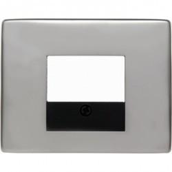 Накладка на розетку USB Berker ARSYS, стальной, 10340004