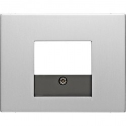 Накладка на розетку USB Berker, алюминий, 10357003