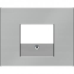 Накладка на розетку USB Berker, сталь матированная, 10357004