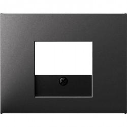 Накладка на розетку USB Berker, антрацит матовый, 10357006
