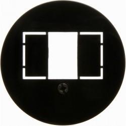 Накладка на розетку USB Berker 1930, черный блестящий, 104001