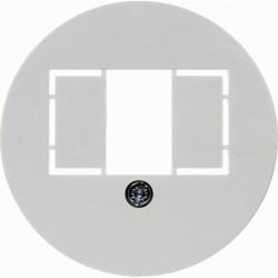 Накладка на розетку USB Berker 1930, белый блестящий, 1040