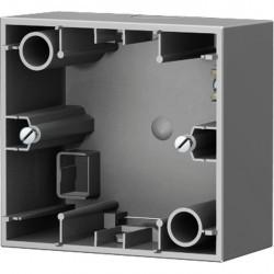 K.1/K.5 Коробка для наружного монтажа 1-ная, Стальной лак