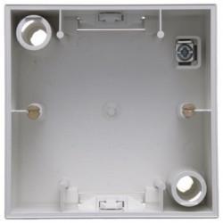 S.1 Коробка для открыт. монтажа 1-ная, бел. матовый