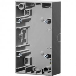 K.1/K.5 Коробка для наружн. монтажа 2-ная вертикальн., бел.
