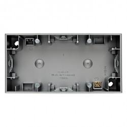 K.1/K.5 Коробка для наружного монтажа, 2-ная, металл Алюминий