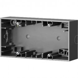 K.1/K.5 Коробка для наружного монтажа, 2-ная, Стальной лак