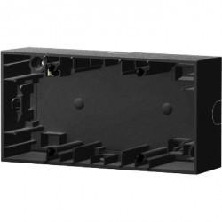 K.1/K.5 Коробка для наружного монтажа, 2-ная, антрацит матовый