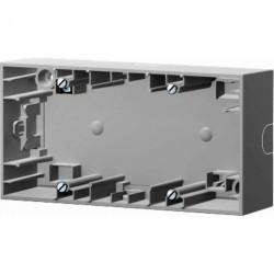 K.1/K.5 Коробка для наружного монтажа, 2-ная, бел.