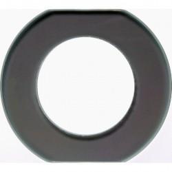 Рамка 1 пост Berker GLAS, прозрачное стекло, 109300