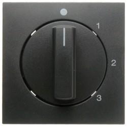 Накладка на поворотный выключатель Berker, антрацит, 10961606