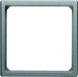 Q. Адаптер для центральной панели 50 x 50 мм, алюминий, бархат
