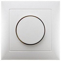 Накладка на светорегулятор Berker, белый матовый, 11309909