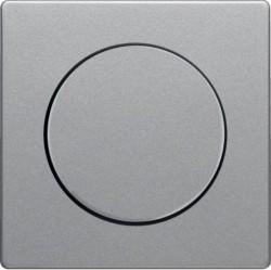 Накладка на светорегулятор Berker, алюминий бархатный, 11376084