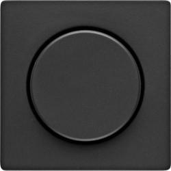 Накладка на светорегулятор Berker, черный бархат, 11376086
