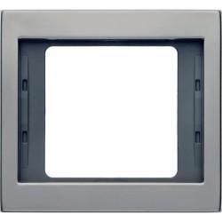 Рамка 1 пост Berker, нержавеющая сталь, 13137004