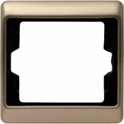 Рамка 1 пост Berker ARSYS, светло-бронзовый, 13140001