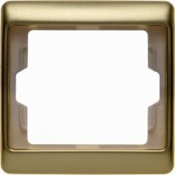 Рамка 1 пост Berker ARSYS, золото светлое, 13140002