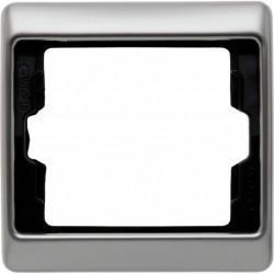 Рамка 1 пост Berker ARSYS, стальной, 13140004