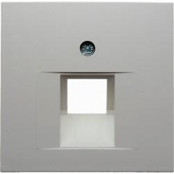 Накладка на розетку информационную Berker, белый, 14078989