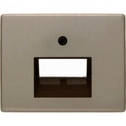 Накладка на розетку информационную Berker ARSYS, светло-бронзовый, 14100001