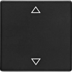Q.1/Q.3KNX Клавиша 1-ная с символом Стрелки для кнопки арт.№75141100, черн. бархат