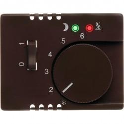 Накладка на термостат Berker ARSYS, коричневый блестящий, 16720001
