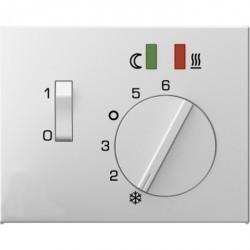 Накладка на термостат Berker, белый, 16727109