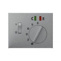 Накладка на термостат Berker, алюминий, 16727124