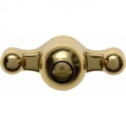 1930/GLAS/Palazzo Ручка для выключателя, мессинг золот.