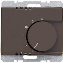 Термостат комнатный Berker ARSYS, темно-коричневый, 20260001