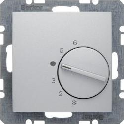 Термостат комнатный Berker, алюминий, 20261404