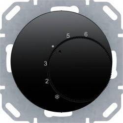 Термостат комнатный Berker, черный глянцевый, 20262045