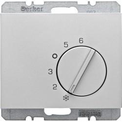 Термостат комнатный Berker, алюминий, 20267103