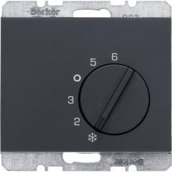 Термостат комнатный Berker, антрацит, 20267106